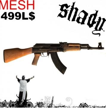 Mesh AK-47 Afghanistan Edition by Shady Store - Teleport Hub - teleporthub.com