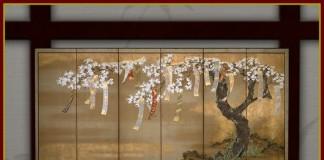 Cherry Blossom Painting by RE Blueprint Designs - Teleport Hub - teleporthub.com