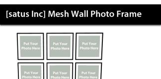 Mesh Wall Photo Frame Group Gift by [satus Inc] - Teleport Hub - teleporthub.com