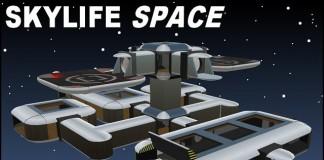 SkyLife SPACE Modular Skybox Building System by Cubey Terra - Teleport Hub - teleporthub.com