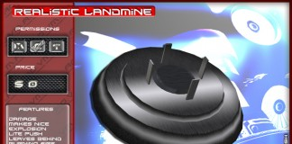 Realistic Landmine - Teleport Hub - teleporthub.com