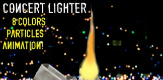 Concert Lighter by Vittorio Beerbaum - Teleport Hub - teleporthub.com