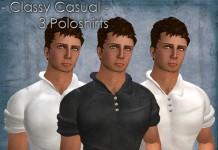 Classy Casual Polo T-Shirts Pack of 3 by artMEfashion - Teleport Hub - teleporthub.com