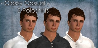 Classy Casual Polo T-Shirts Pack of 3 by artMEfashion - Teleport Hub - teleporthub.com