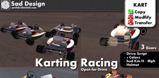 Karting Racing Pack by Sad Design - Teleport Hub - teleporthub.com