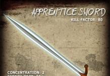Apprentice Sword by AG - Teleport Hub - teleporthub.com