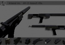 AR-15 Assault Rifle by Arsenal Inc - Teleport Hub - teleporthub.com
