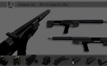 AR-15 Assault Rifle by Arsenal Inc - Teleport Hub - teleporthub.com