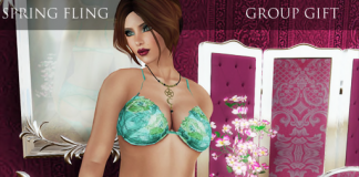 Spring Fling Lingerie Group Gift by BlackLace - Teleport Hub - teleporthub.com