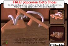 Geta Shoes Traditional Japanese Footwear by Fudoshin Creations - Teleport Hub - teleporthub.com