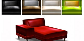 Glossy Collection Chaise Lounge by ESO - Teleport Hub - teleporthub.om