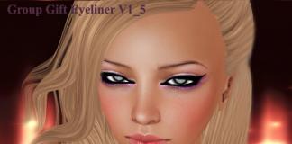 Fashion Eyeliner Group Gift 09 by {AIMI} SKIN - Teleport Hub - teleporthub.com