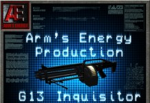 Arm's Energy G13-Inquisitor 1.5 by fox2004 Avril - Teleport Hub - teleporthub.com
