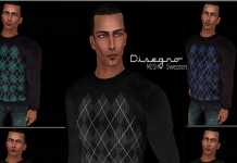 Disegno Mesh Sweater Fat Pack Group Gift by Rispetto Designs - Teleport Hub - teleporthub.com