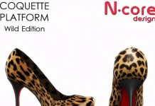 Coquette Platform Wild Edition Leopard Pattern Heels Group Gift by N-core Design - Teleport Hub - teleporthub.com