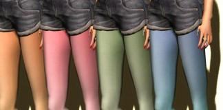 Lulu Legging 4 Colors Group Gift by WERTINA - Teleport Hub - teleporthub.com