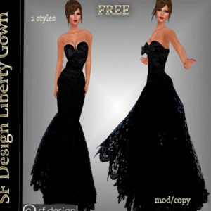 Liberty Gown by sf Design - Teleport Hub - teleporthub.com