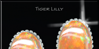 Tiger Lilly Earring Gift by Chop Zuey - Teleport Hub - teleporthub.com