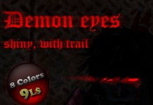 Demon Eyes Shiny With Trail 8 Colors by SniperMdAb Avro - Teleport Hub - teleporthub.com