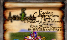 Artists Garden Easter Celebrations Hunt - Teleport Hub - teleporthub.com