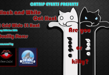 Black and White Cat Hunt - Teleport Hub - teleporthub.com