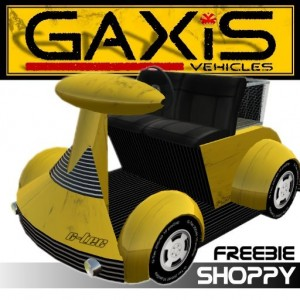 GaxiS Shoppy Vehicle by Nils Kenzo - Teleport Hub - teleporthub.com