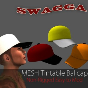 Mesh Ballcap by Swagga - Teleport Hub - teleporthub.com