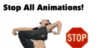 Stop Animations HUD by HUDDLES - Teleport Hub - teleporthub.com