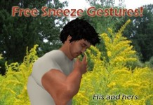 Sneeze Gestures (Male & Female) by goodstuff - Teleport Hub - teleporthub.com