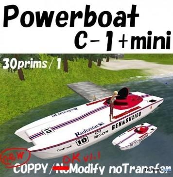 Powerboat C-1 by Michie Yokosuka - Teleport Hub - teleporthub.com