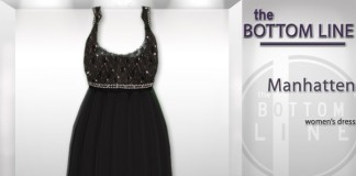 Manhatten Dress by The Bottom Line - Teleport Hub - teleporthub.com
