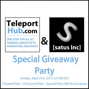 Teleport Hub Giveaway Party - Teleport Hub - teleporthub.com