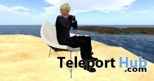 [satus inc] Coconut Beach Chair [mesh] Full Edition - Teleport Hub - teleporthub.com