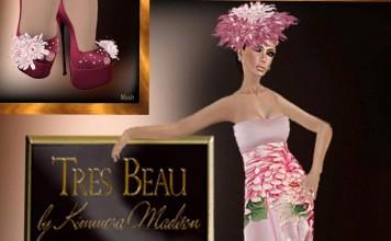 Chrys Dress Easter 2013 Group Gift by Tres Beau - Teleport Hub - teleporthub.com