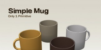 Simple Mug by Hiroro Mayo - Teleport Hub - teleporthub.com