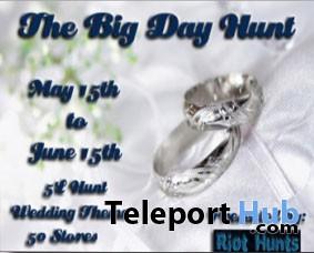 The Big Day Hunt - Teleport Hub - teleporthub.com