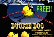 Duckie Doo Jetski by Spumeology Studio - Teleport Hub - teleporthub.com