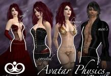 Avatar Physics Bundle by BlakOpal Designs - Teleport Hub - teleporthub.com