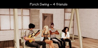Porch Swing for 4 Friends by The Beachstore - Teleport Hub - teleporthub.com