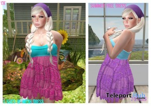 Summer Dress by *CK* - Teleport Hub - teleporthub.com
