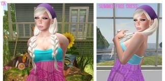 Summer Dress by *CK* - Teleport Hub - teleporthub.com