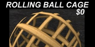 Rolling Ball Cage by DXW Undertone - Teleport Hub - teleporthub.com