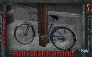 Street Clutter Bike 1 by 2H - Teleport Hub - teleporthub.com