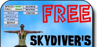SOAR Free Skydiver's HUD by BOOVILLE SKYDIVING - Teleport Hub - teleporthub.com
