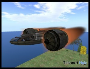 Pod Ship by Bliss Designs - Teleport Hub - teleporthub.com