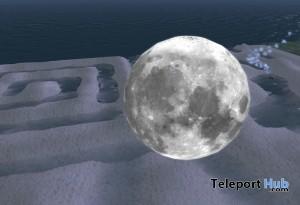 Real Prim Slowly Rotating Moon by Ally Adventure - Teleport Hub - teleporthub.com