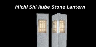 Michi Shi Rube Stone Lantern by Tsunami Creations - Teleport Hub - teleporthub.com