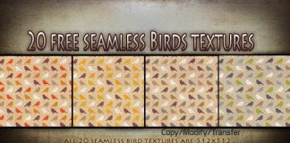 20 Free Seamless Colorful Birds Textures by Texture Shop - Teleport Hub - teleporthub.com