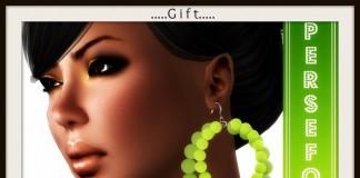 Felt Earrings Green by Persefona - Teleport Hub - teleporthub.com
