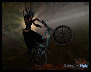 Animated Stunt Bike by Bliss Designs - Teleport Hub - teleporthub.com